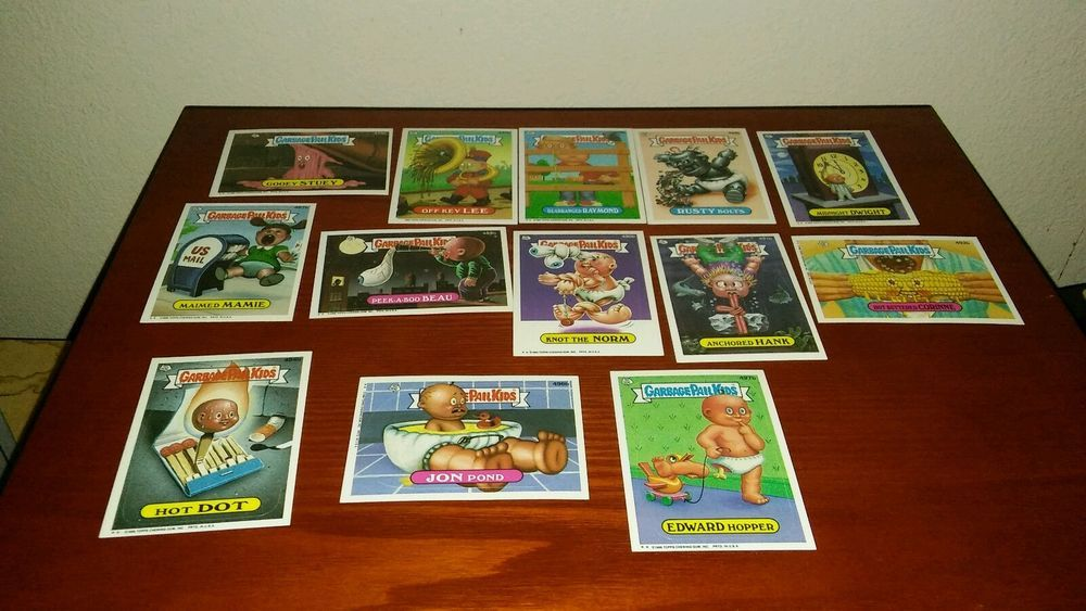 are garbage pail kid cards worth anything
