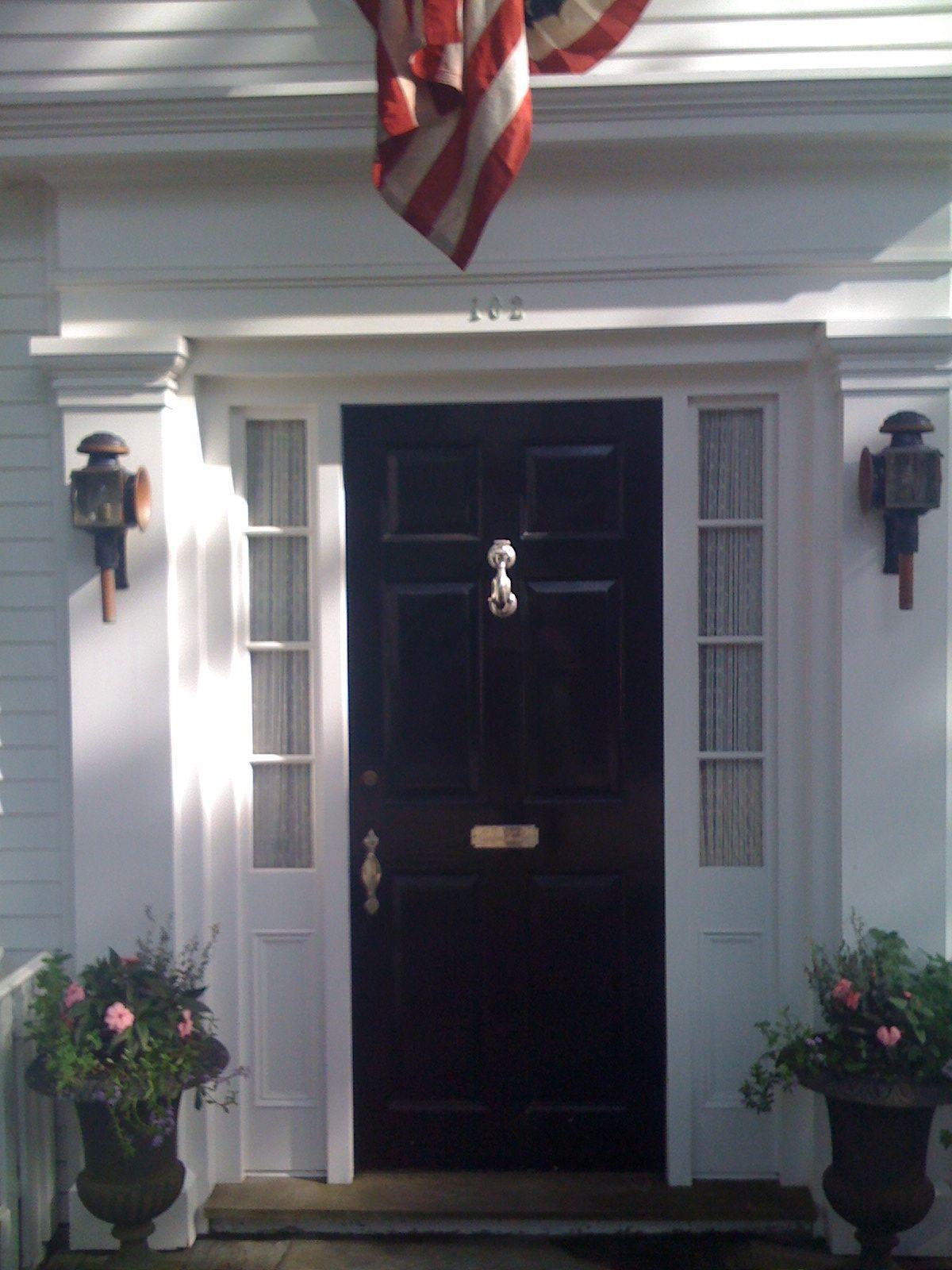 Nantucket Door Doors, Exterior trim, New england