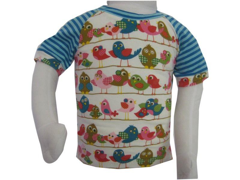 AprilSchrill T-Shirt Gr.86 für Mädchen Jersey  von Me Kinderkleidung auf DaWanda.com