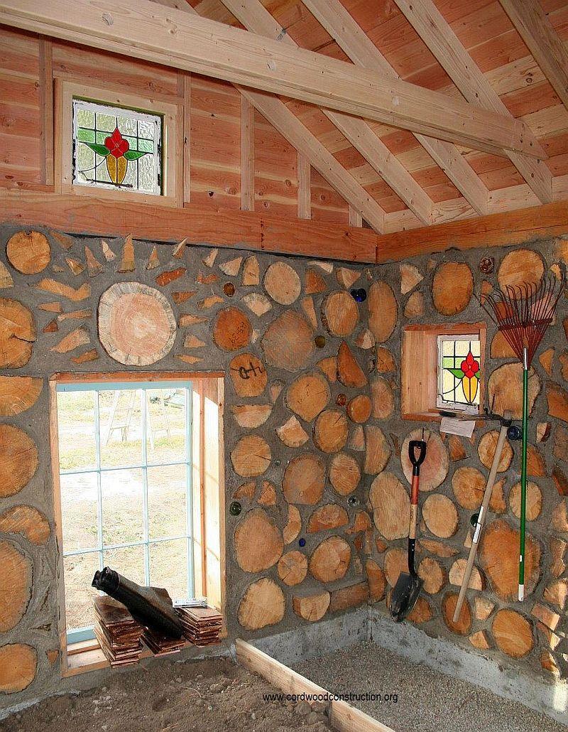 Cordwood Greenhouse in Montana | Pinterest | Gardening tools ...