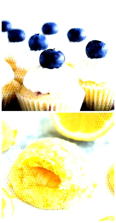 Blueberry and lemon cupcakes • Wonder cupcakes Blueberry and lemon cupcakes Blueberry and lemon c
