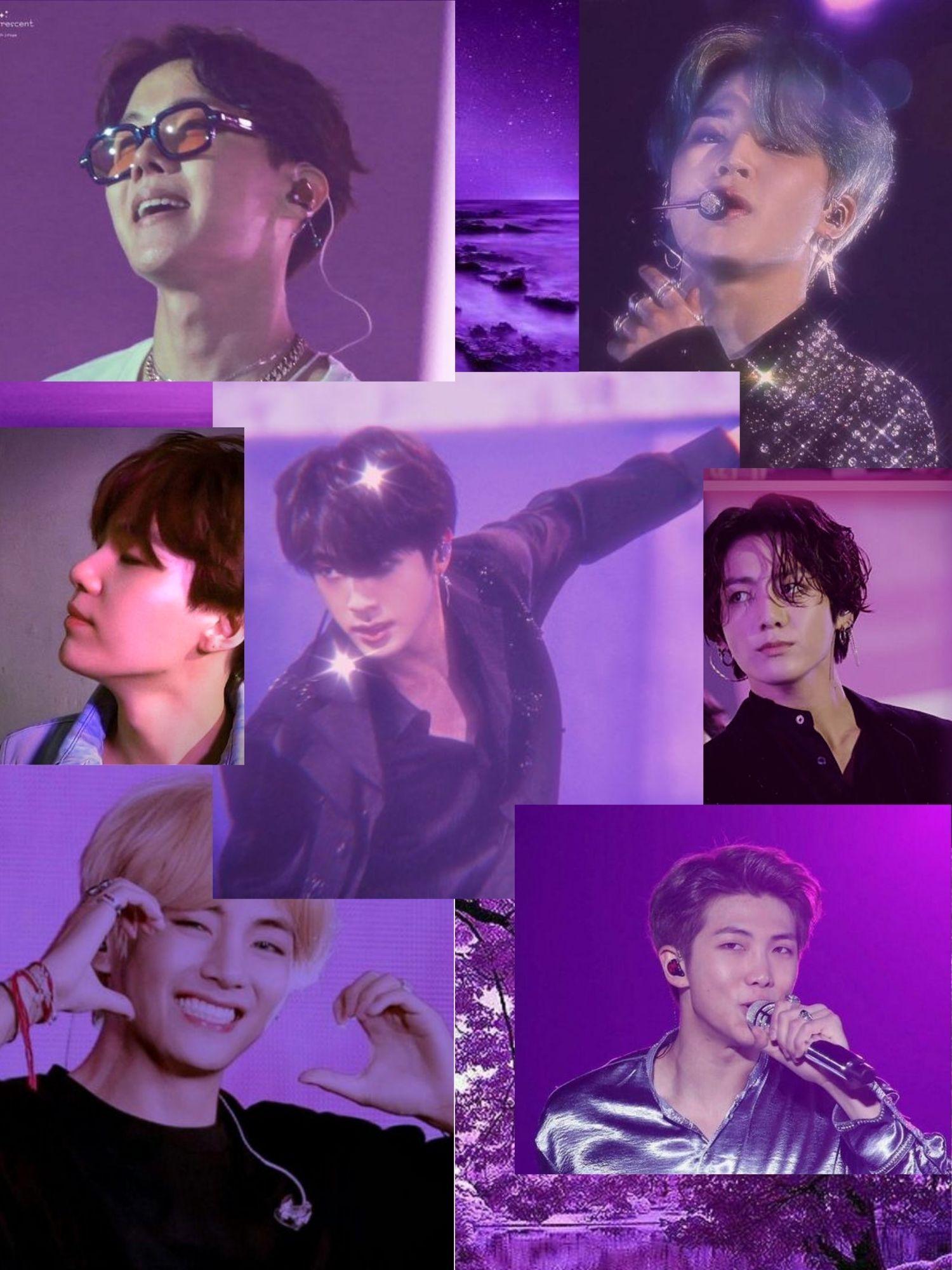 Bts Purple Wallpaper For Ipad Purple Wallpaper All Bts Members Bts Wallpaper Bts wallpaper 2021 ipad