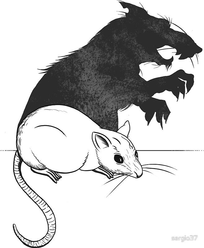 The Strange Case of Dr. Mouse and Mr. Rat by sergio37