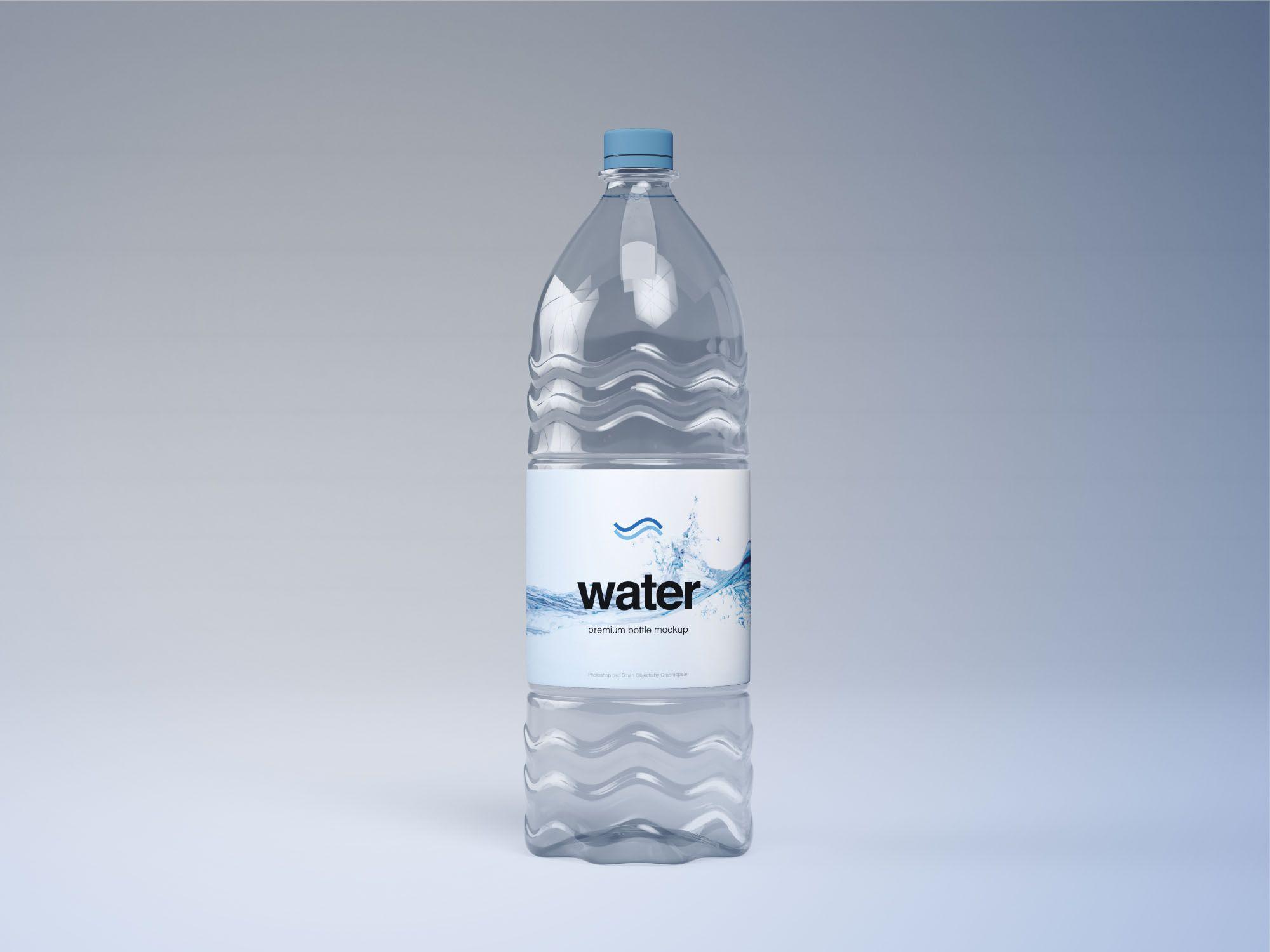 Plastic Water Bottle Mockup Bottle Mockup Water Bottle Bottle Packaging