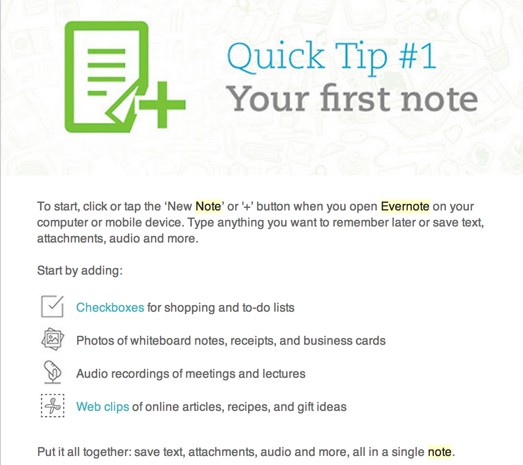 5 Quick Tips Teachers Should Know about Evernote | Dropbox ...