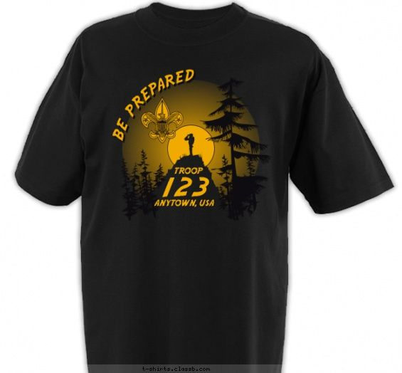 1000+ Images About Boy Scout™ Troop T-Shirt Design Ideas On
