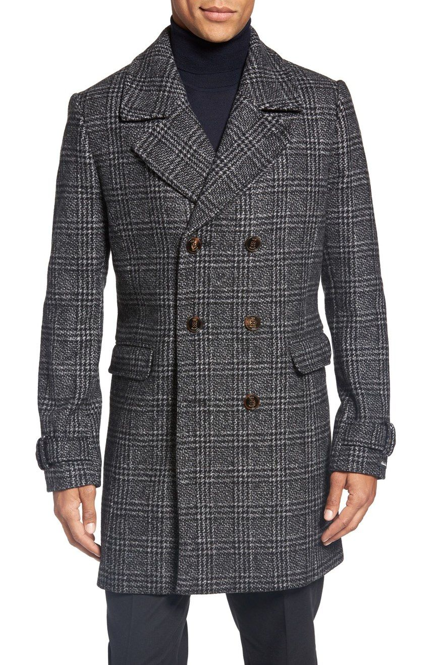 ted-baker-london-glen-plaid-double-brested-winter-dress-coat-2016 ...