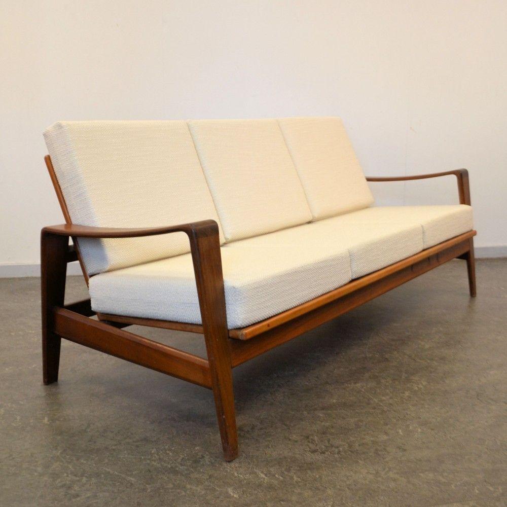 Located using retrostart.com > Sofa by Arne Wahl Iversen for ...