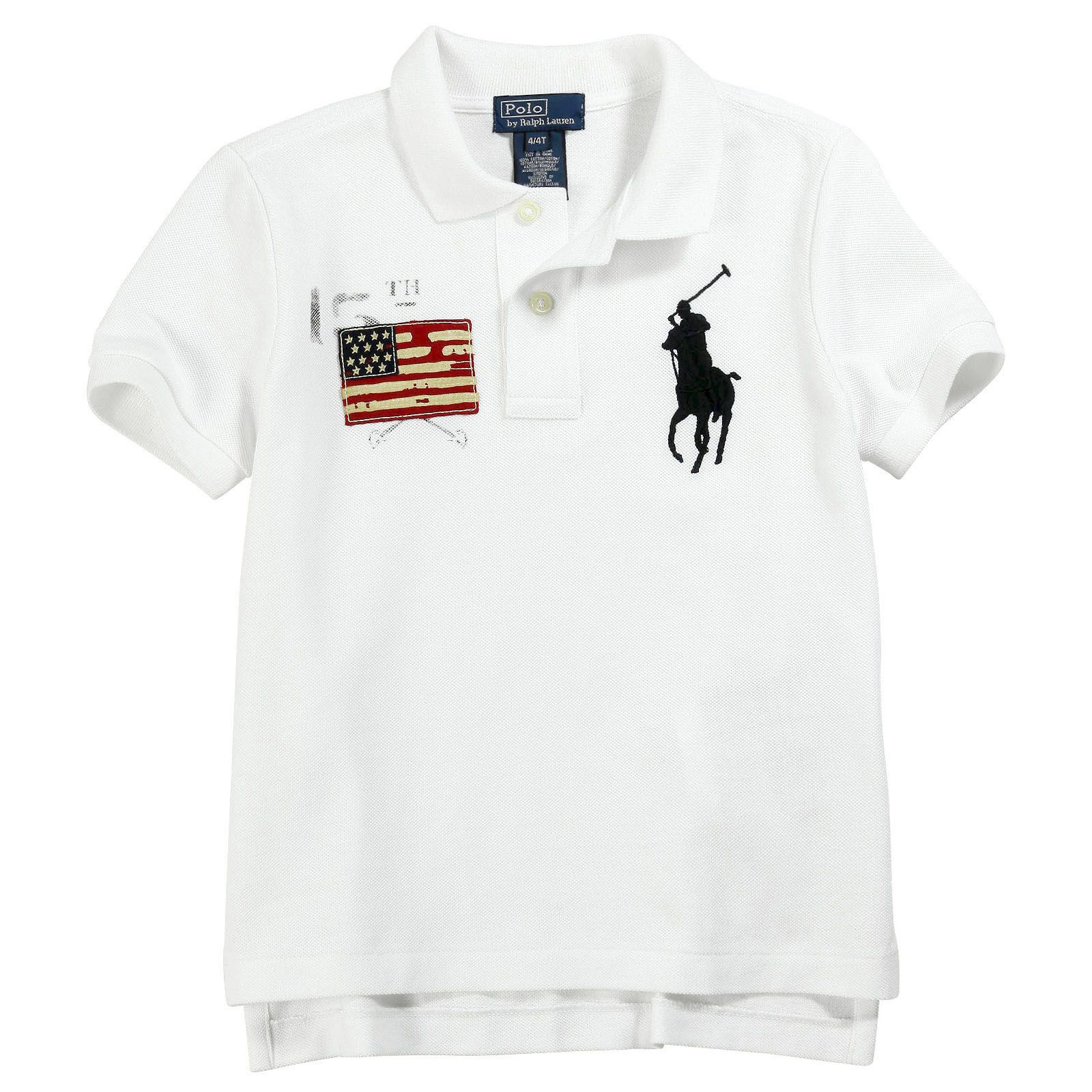 Ralph Lauren - White Big Pony polo shirt