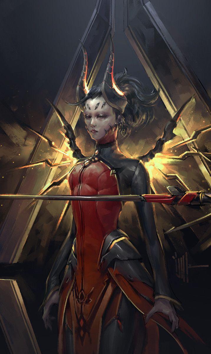 Devil by ijur (detail) | Fantasy Art | Fantasy art ...
