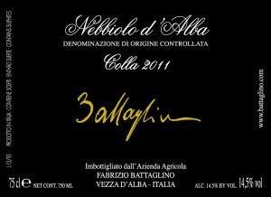 Nebbiolo Colla 2011 - Fabrizio Battaglino Kompleks og feminin på samme tid. Elegant med mange fi e dybe noter af både lakrids, tobak og læder