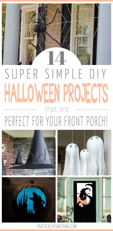 14 DIY Halloween Porch Decorations | Halloween porch decorations ...