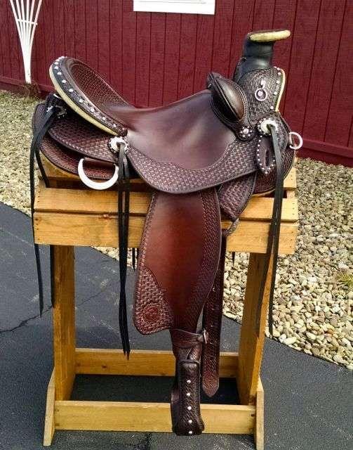 Cascade Wade Saddle | Custom, Handmade Saddle | Saddles | Wade