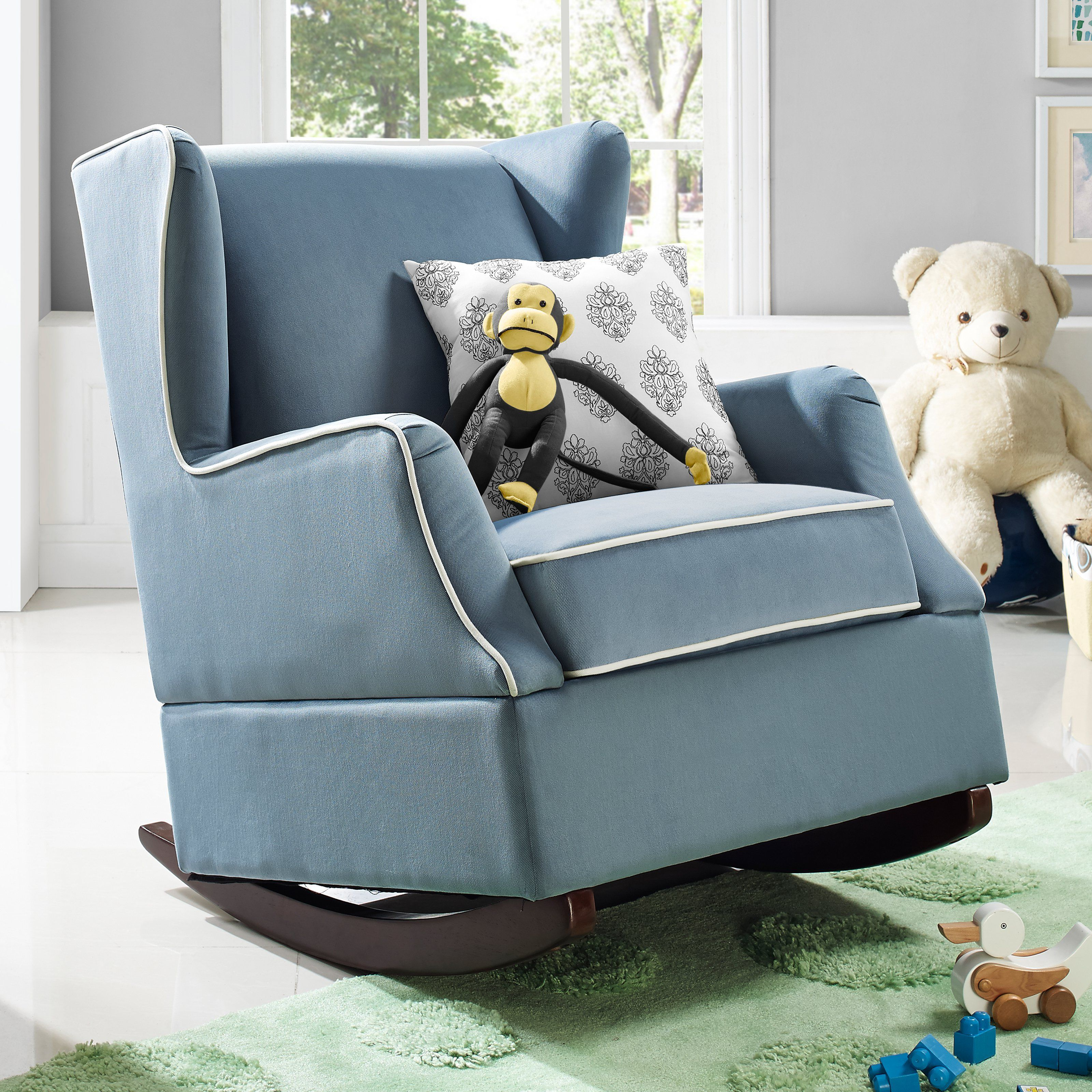 Baby Relax Hudson Wingback Rocker Your child will always