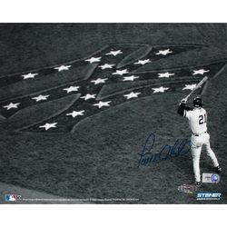 Paul O Neill 01 Ws On Deck W Yankee Logo B Horizontal 8x10 Photo Mlb Auth Yankees Logo Yankees Baseball Go Yankees