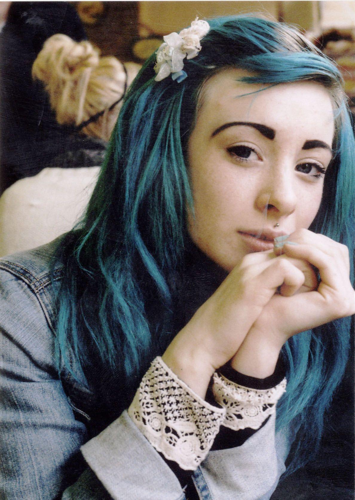Blue hair plans for hair pinterest blue hair hair coloring