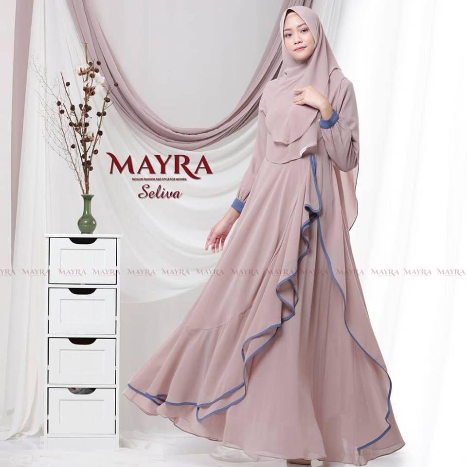 Model Baju Syari Mayra Terbaru