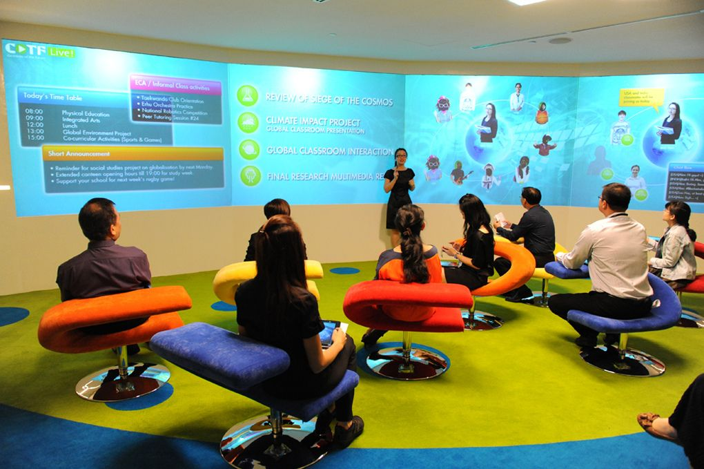 Collaborative Classroom Ideas : Classroom of the future collaborative space spaces