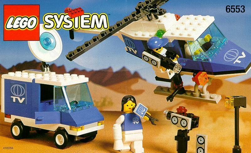 Town - Crisis News Crew [Lego 6553]