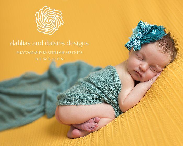 Plano newborn photographer newborn girl in yellow