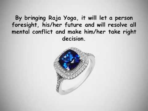 Wear Blue Sapphire ( Neelam ) to Bring Raja Yoga in Your
