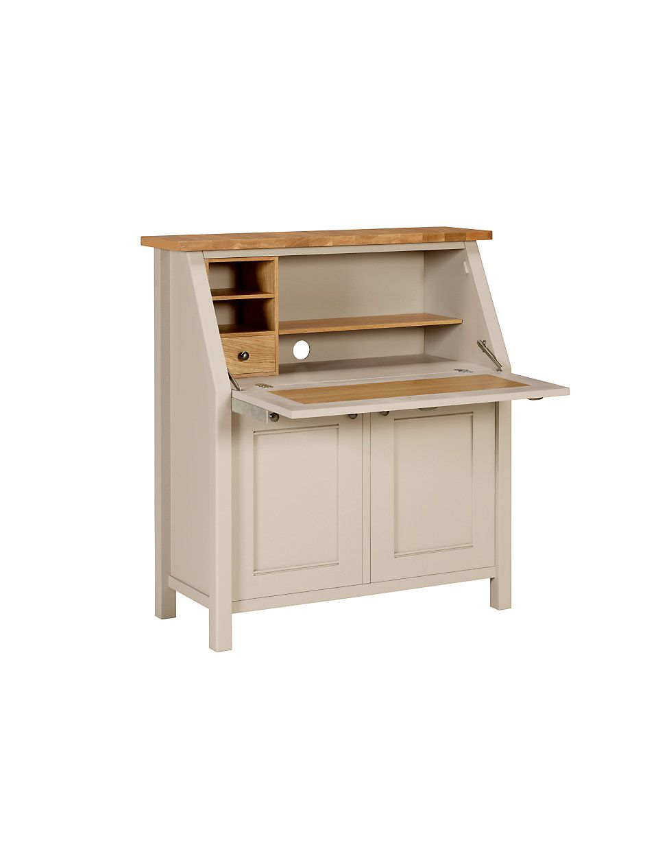 Bien connu Inspiration for ikea hemnes bureau--sand off white stain on top  LE12