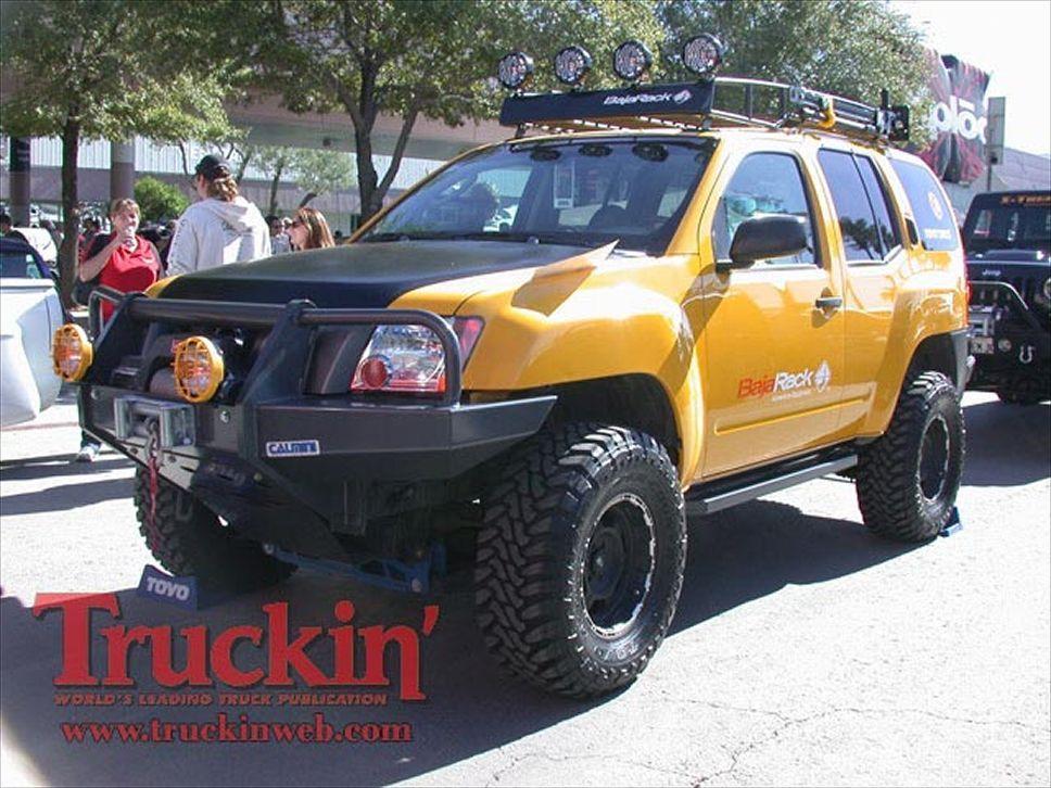 2008 Sema Show Trucks Baja Rack Nissan Xterra Photo 160