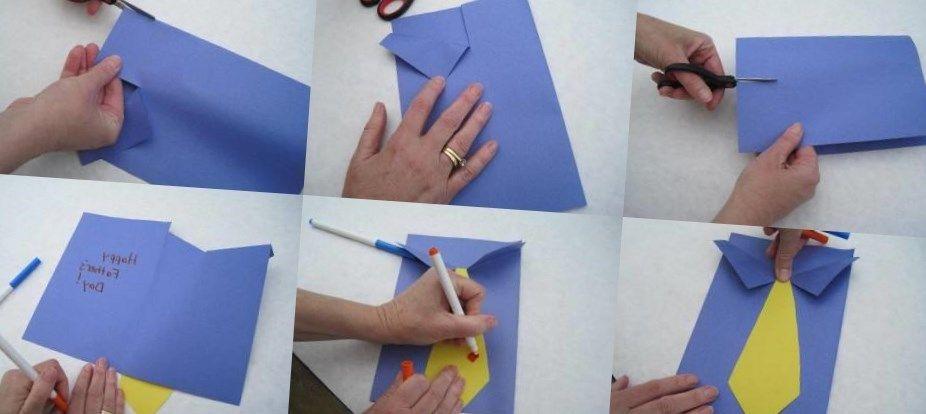 Днем, как сделать открытку для дедушки видео