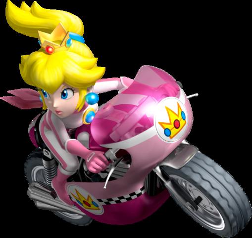 Mario Kart Wii Princess Peach Mach Bike Peach Mario Kart