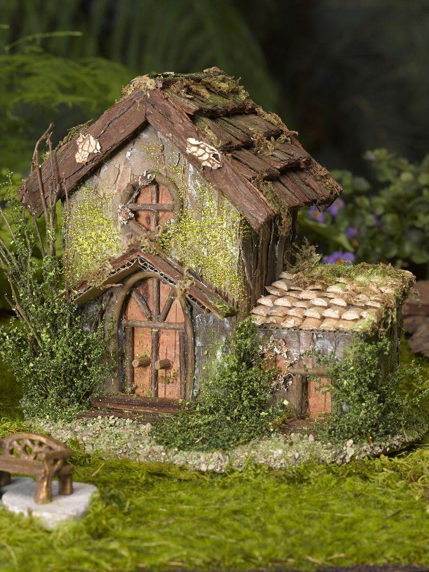 fairy garden house fairy garden cottage gardeners supply - Fairy Garden Houses
