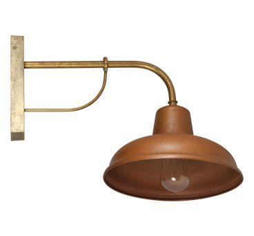 Show Details For Bells 240v Solid Copper Exterior Wall Light S118c Seaside