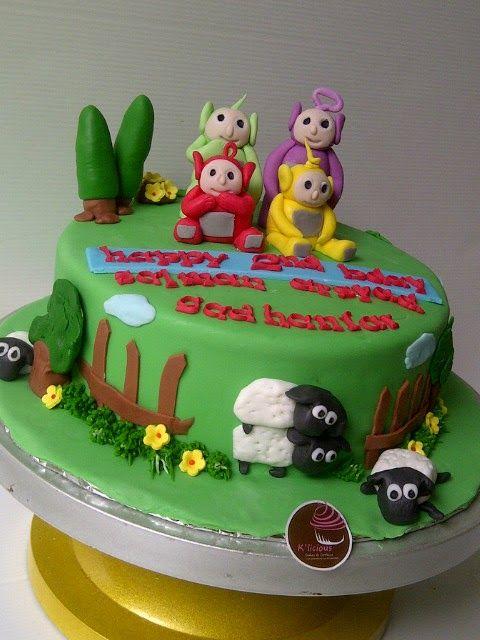 K'licious Cakes : Teletubbies & Sheep Cake