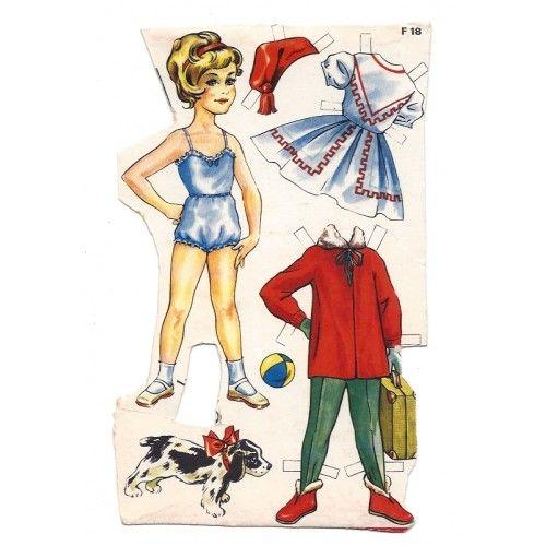 gammel dansk ota ark( 65 | Paper Dolls Danish | Pinterest | Dolls, Vintage paper dolls and ...