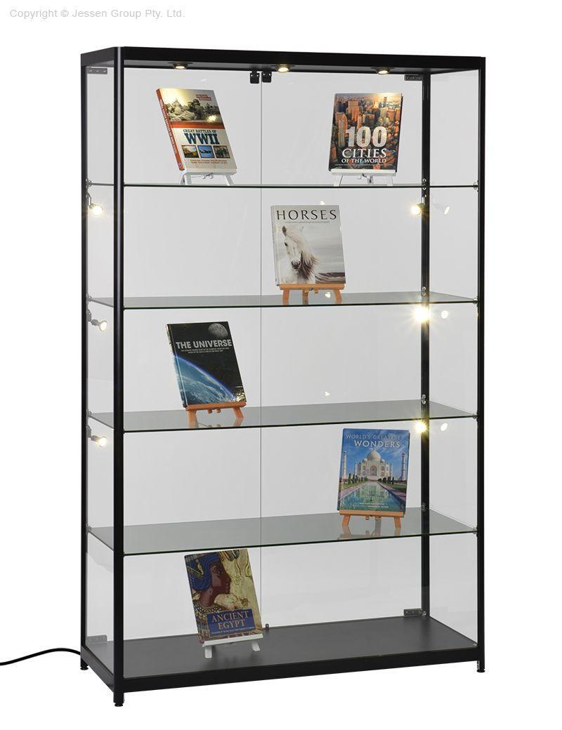 2m Trophy Display Cabinet