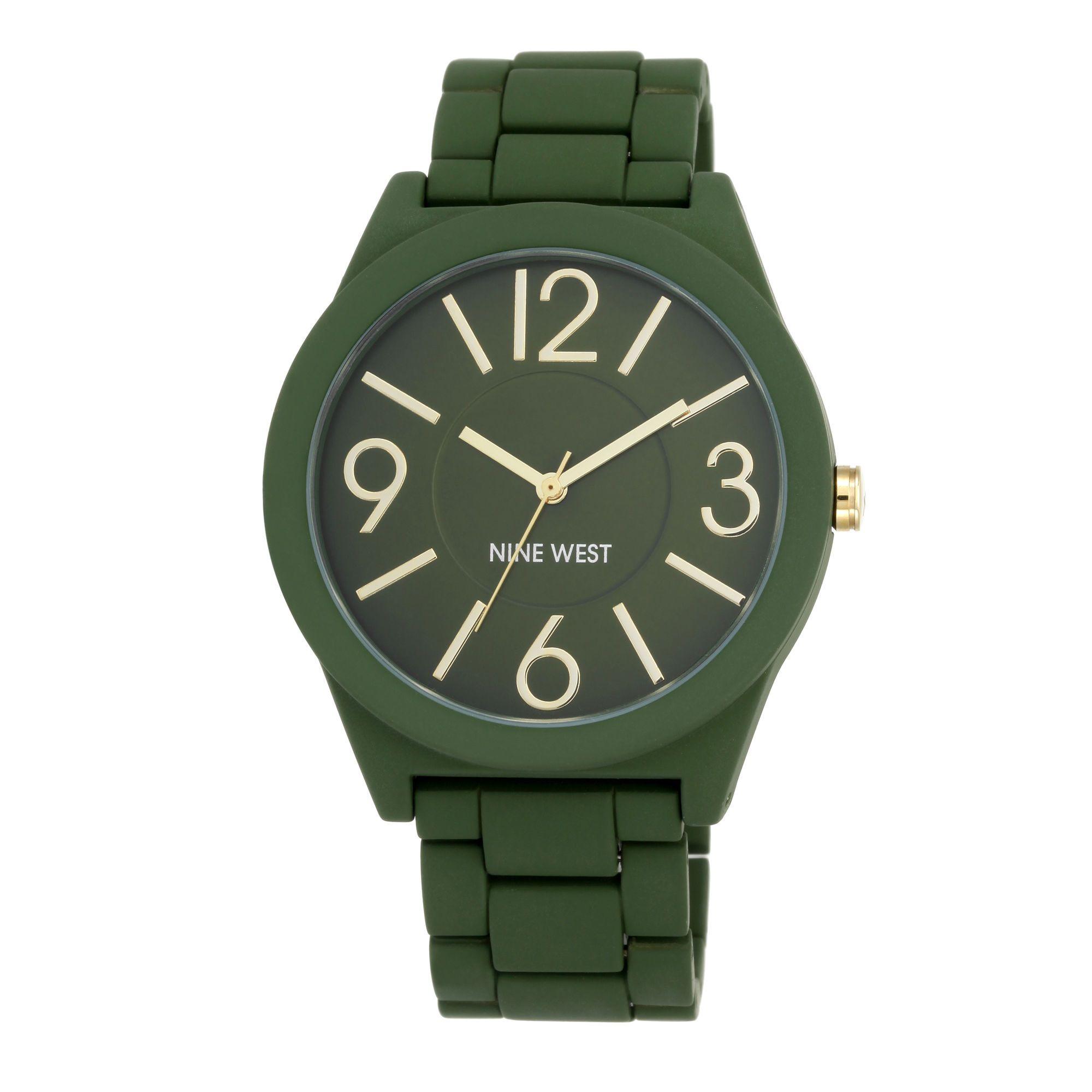 Watchme Green Metal Bracelet Watch 9W