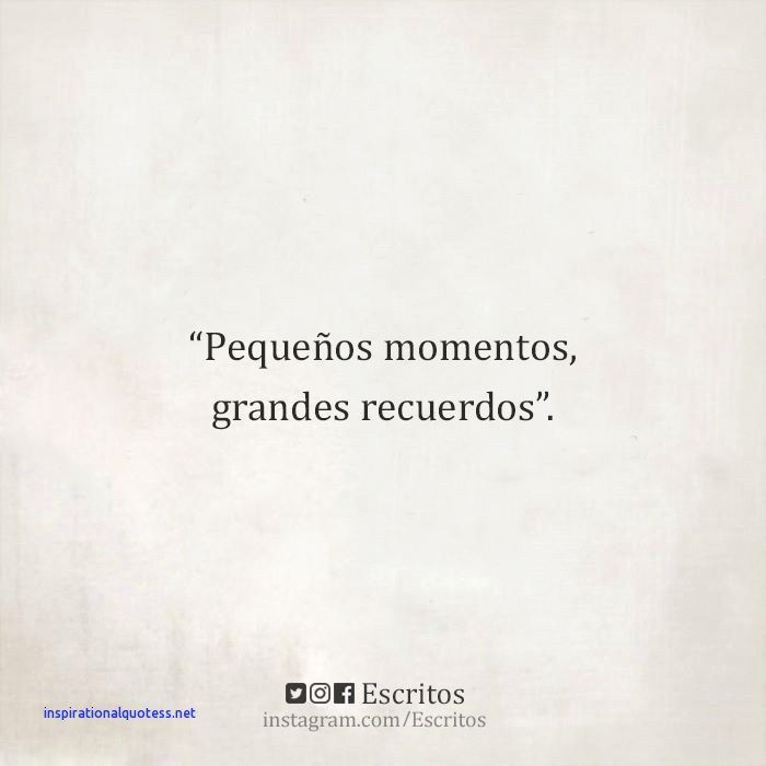 Short Inspirational Quotes In Spanish Words
