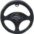 Moda Motorsports Medium Black-Ice Crystal Bling Leatherette Steering Wheel Cover www.CrystalCase.com