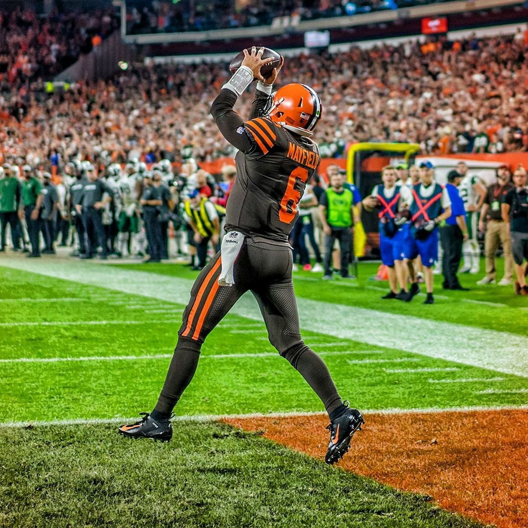 Pin by Andrue on Baker Mayfield Cleveland browns history