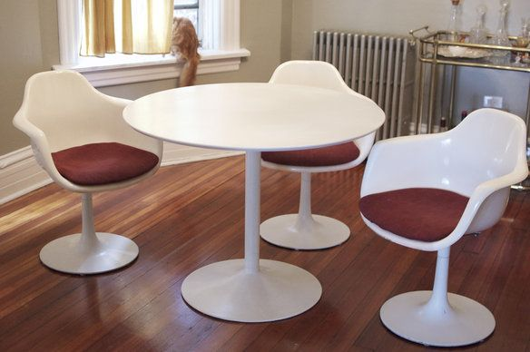 CB Table Tulip Chairs Rare Tulip Chair White Dining Table - Cb2 tulip table