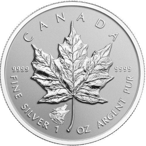 2016 Canada Panda Privy Maple Leaf 1oz Silver Canadian Coin