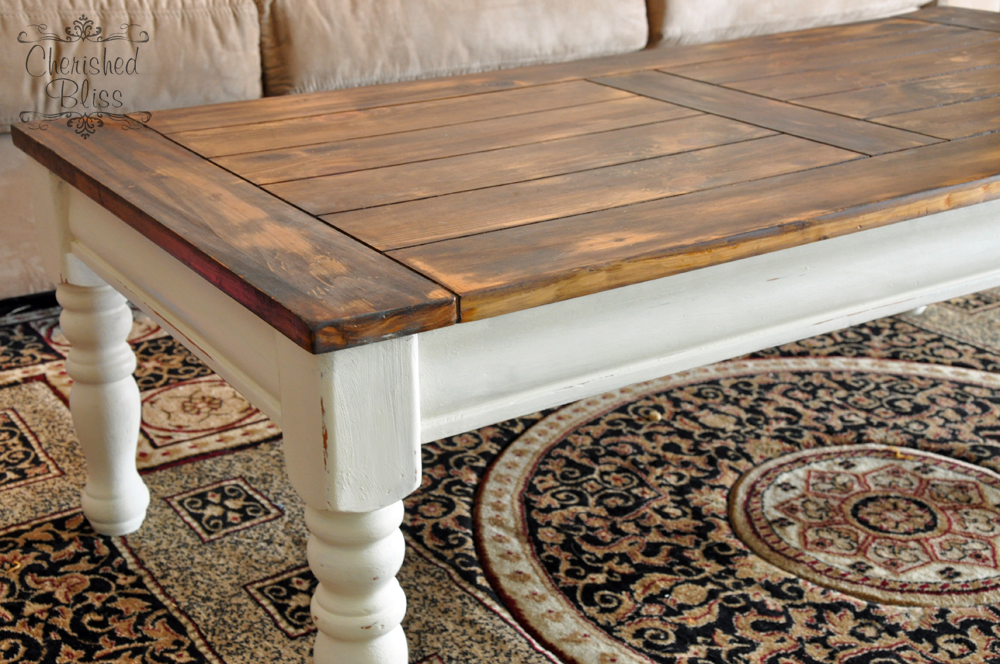 Coffee Table Redo Refinishing coffee tables Coffee table redo and