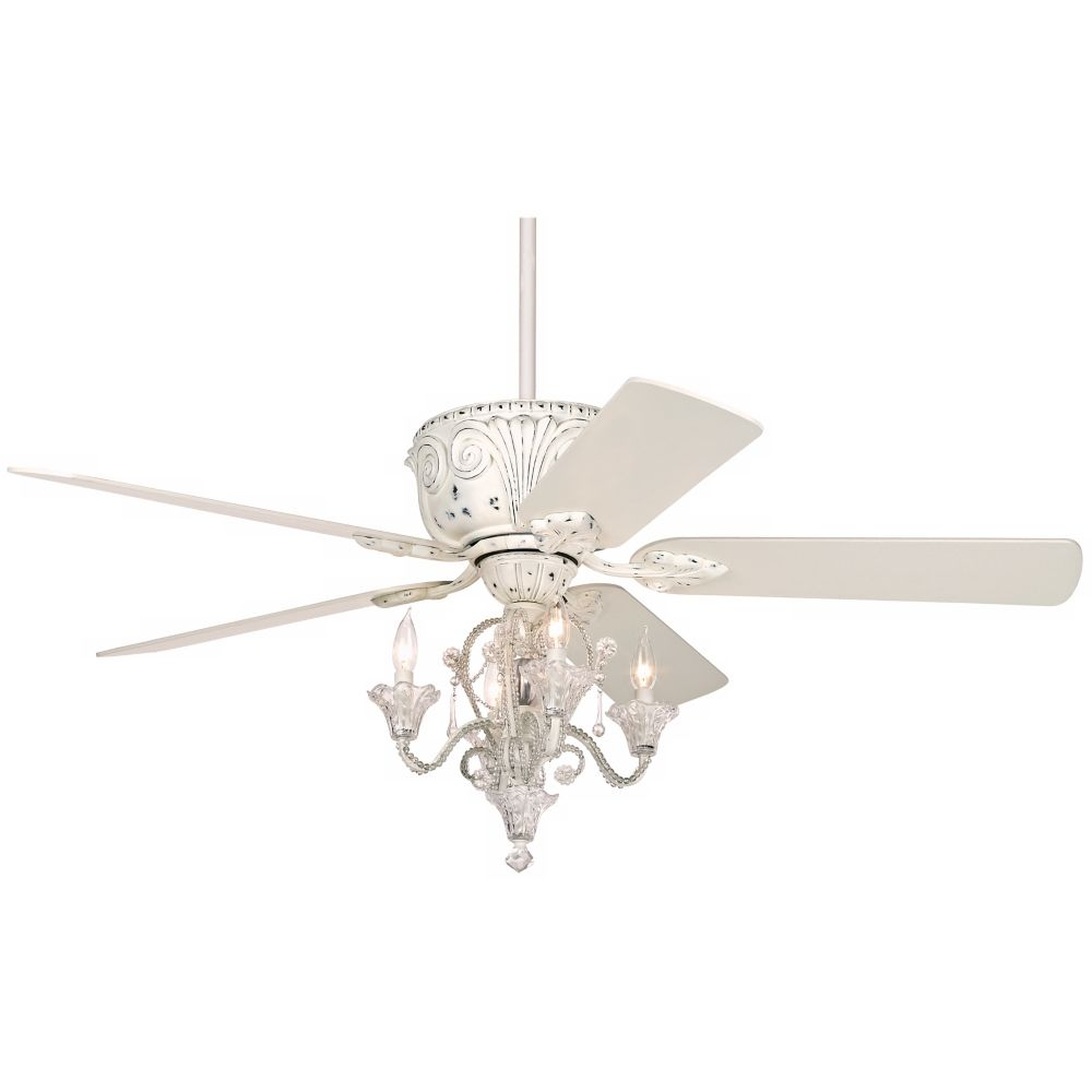 Casa deville candelabra ceiling fan with remote style
