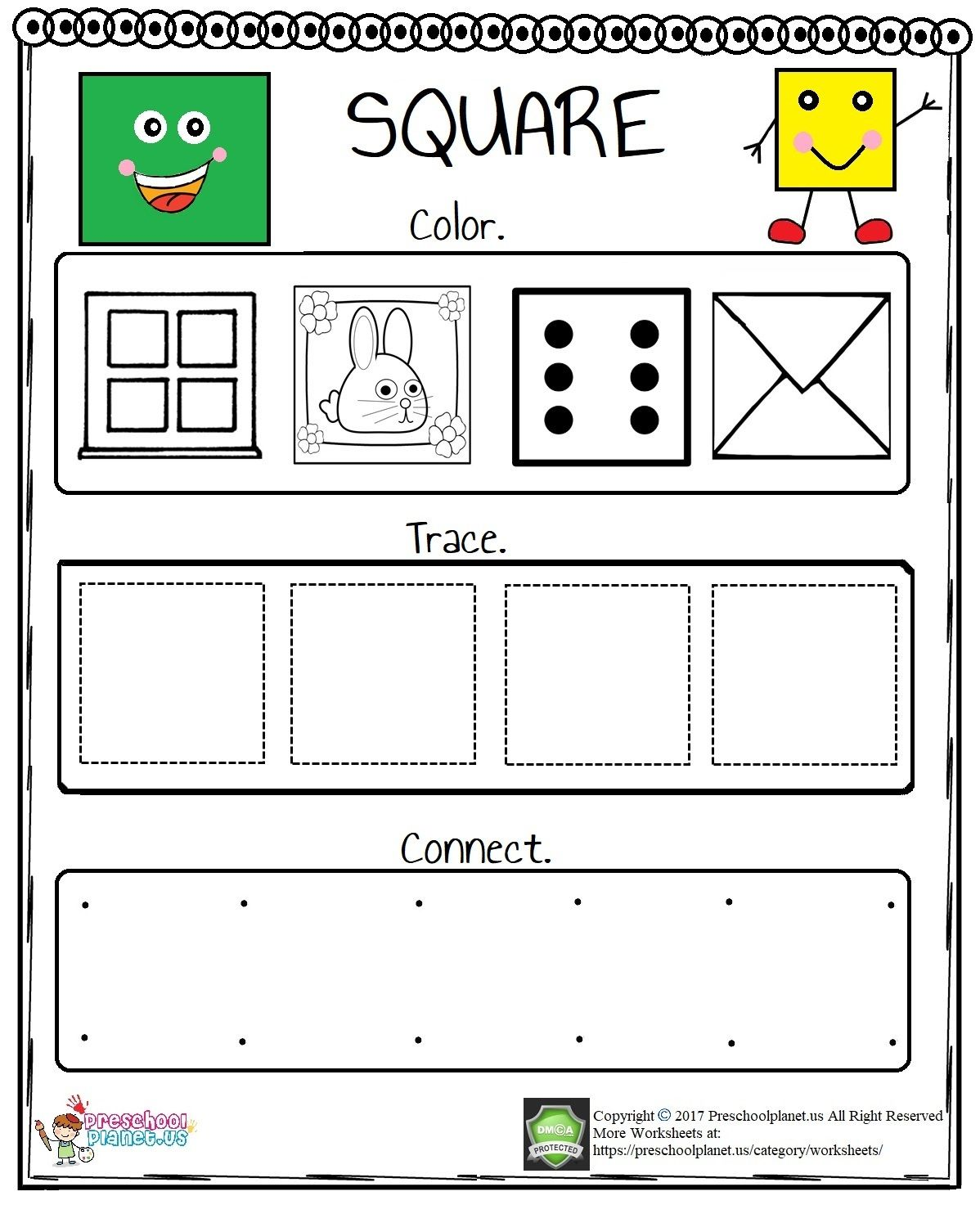Printable Five Senses Worksheet Preschoolplanet In