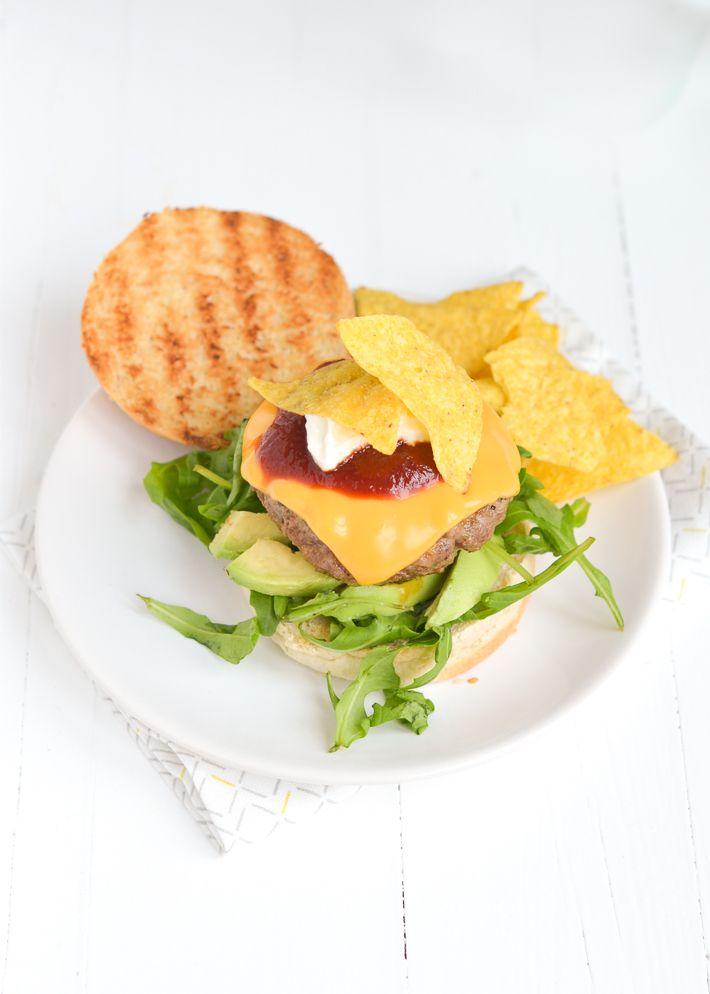 Tex Mex Burger Uit Pauline S Keuken Voedsel Ideeen Beste Recepten Dineren