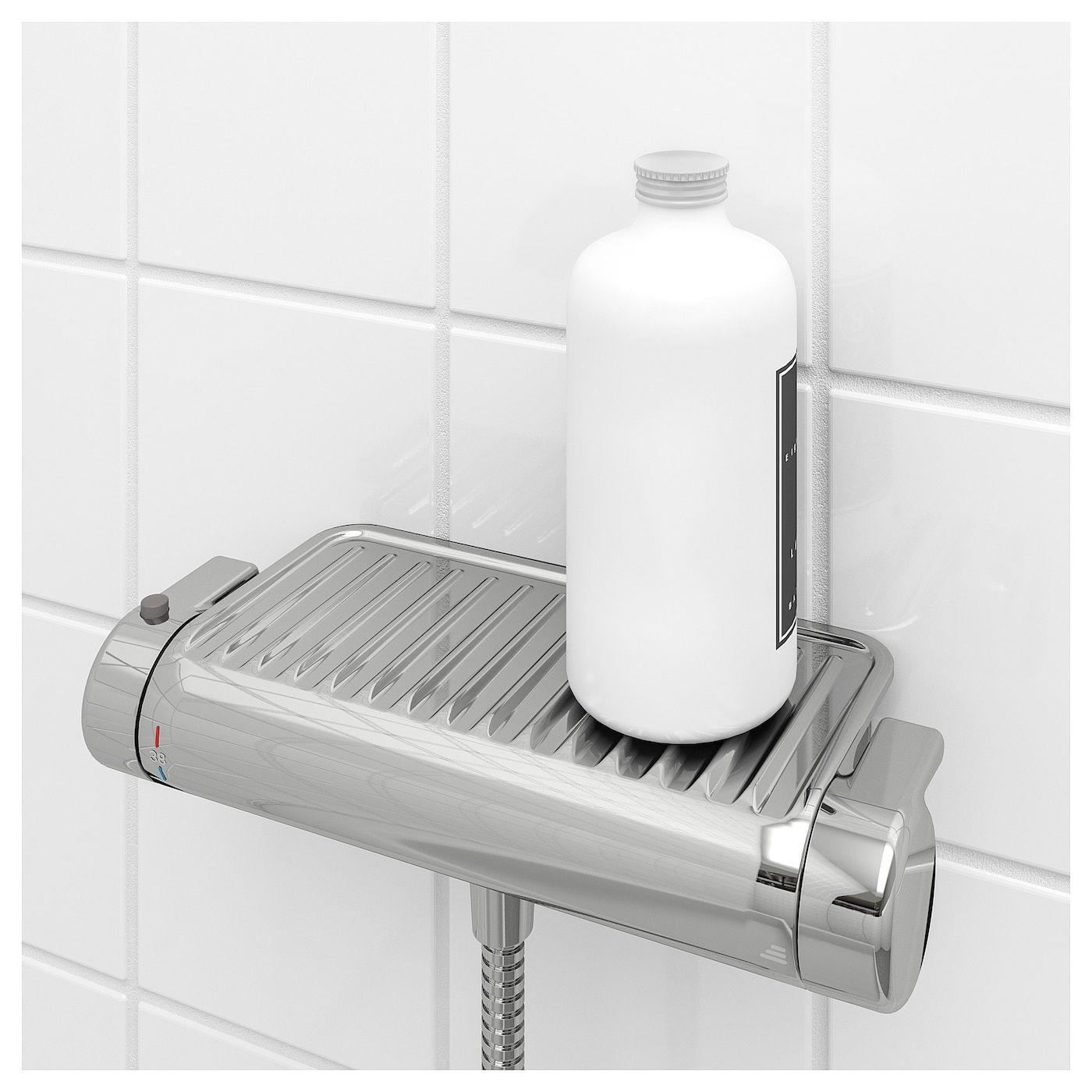 Voxnan Thermostat Mischbatterie Dusche Verchromt Mischbatterien Batterien Und Ikea