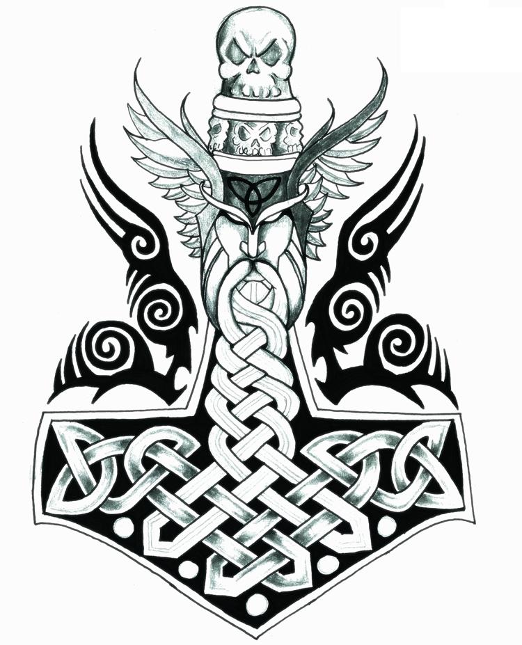 Arttanks Norse Tattoo Viking Tattoos Viking Art 7