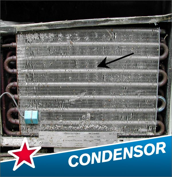 A condenser is a device that is used to cool a gas to a