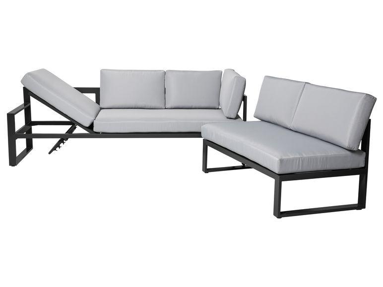 Florabest Loungeecke Alu Mit Tisch Lidl De Lounge Garten Lounge Tisch