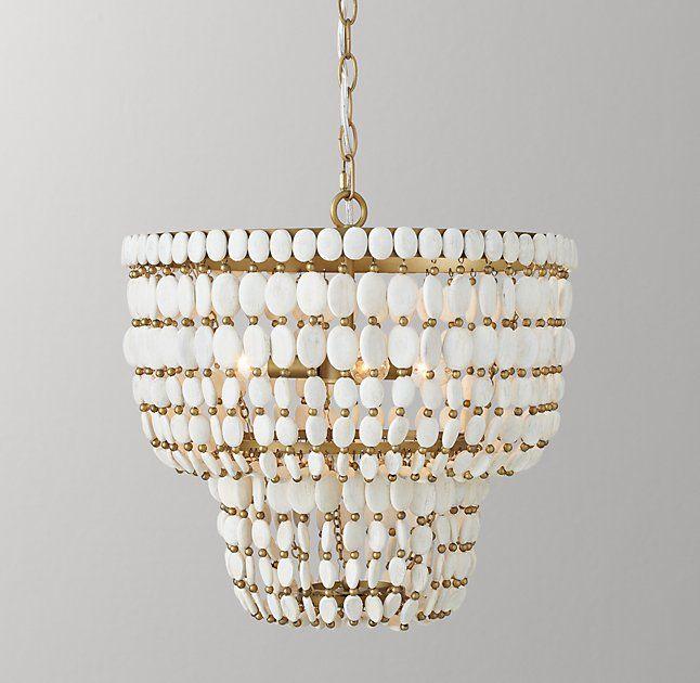 Remi Medium Pendant - White Chandelier Pinterest - deckenleuchten wohnzimmer landhausstil
