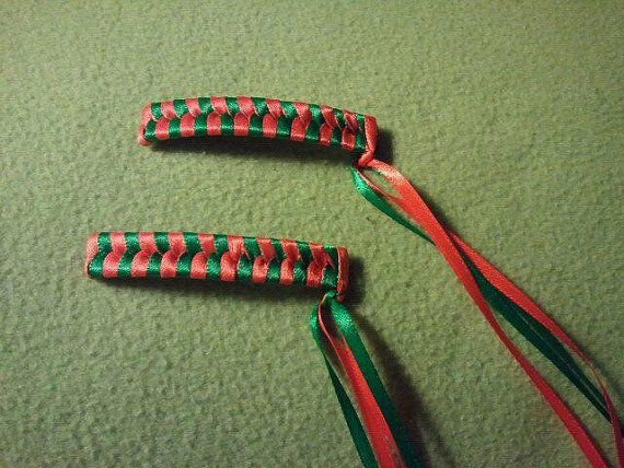 Halloween 80's Retro Braided Barrette. Yep we actually used to wear these. Haha